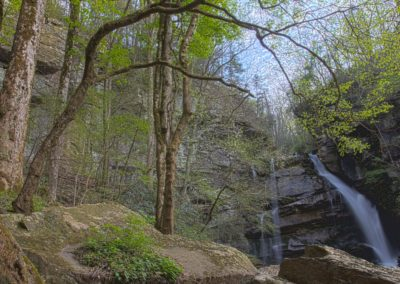 Bradley Falls in the Green River Gorge